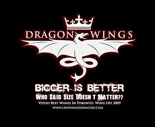 Wings crown-dragon-pub-toronto-on