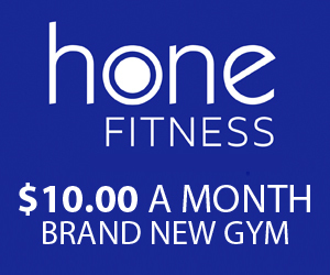 300 by 250 HONE FITNESS AD